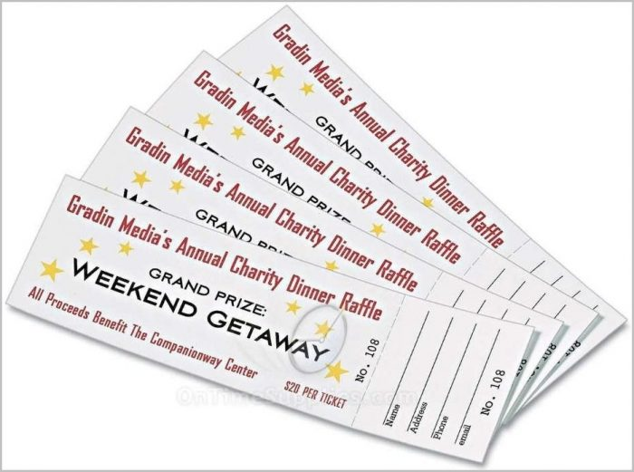 Avery Raffle Ticket Template 16154