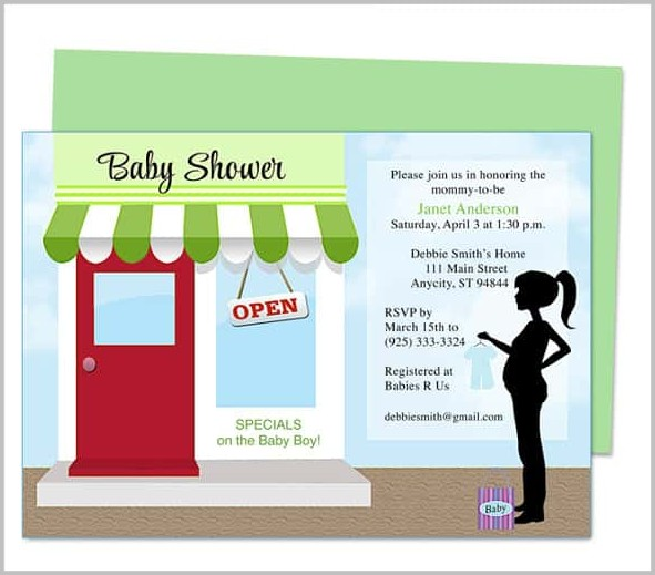 Baby Shower Invitation Templates Microsoft Publisher