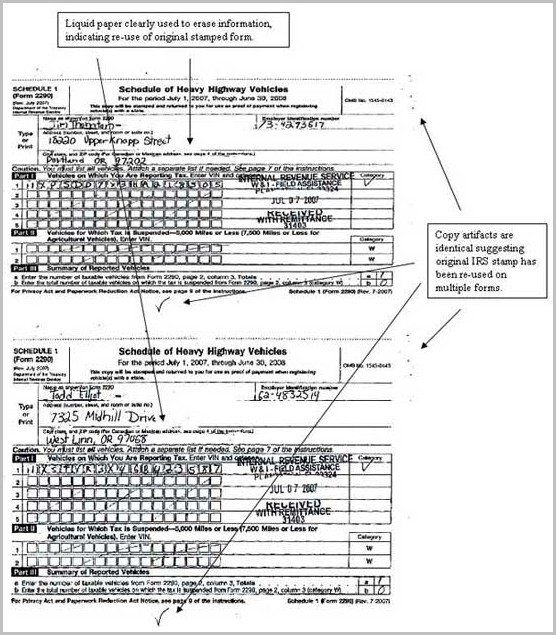Top Printable 2290 Form