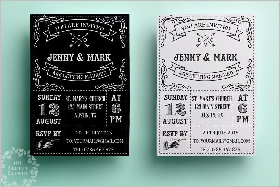 Free Birthday Invitation Templates To Download