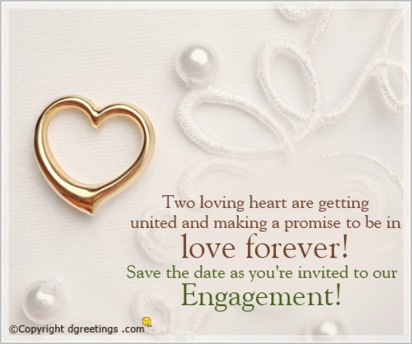Free Engagement Invitation Templates Online