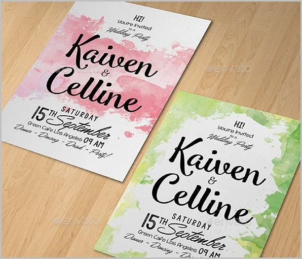 Free Invitation Templates Psd