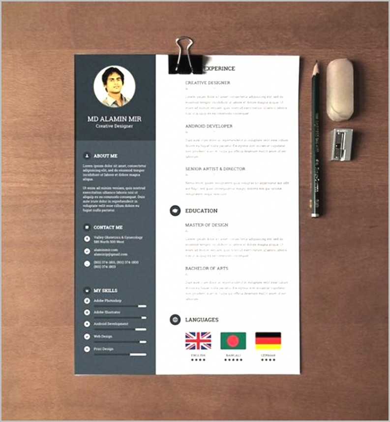 Free Modern Resume Templates For Word Download 1