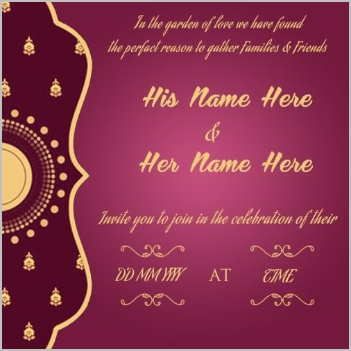 Free Wedding Invitation Templates To Download 1 Resume