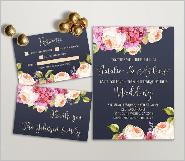 Free Wedding Invitation Templates To Download