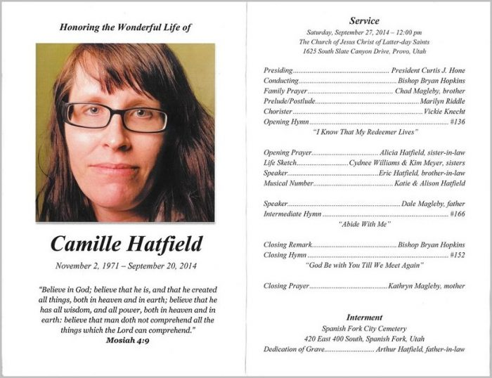 Jehovah Witness Funeral Program Template Templates 1 Resume Examples