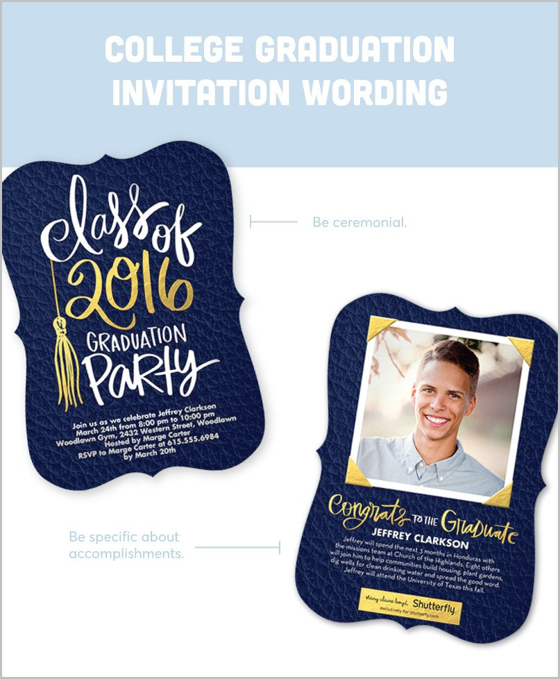 Graduation Invitation Templates Shutterfly