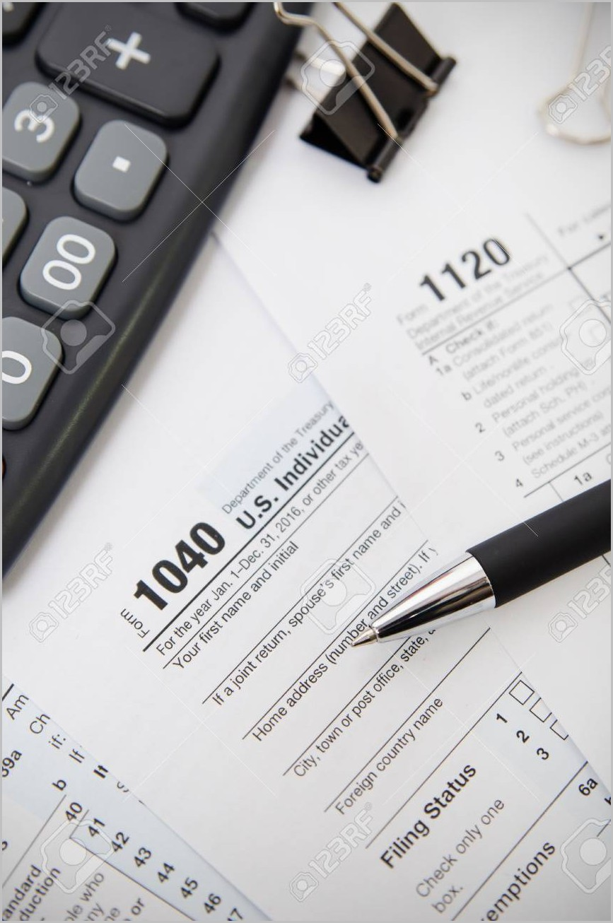 Irs Form 1040 Calculator