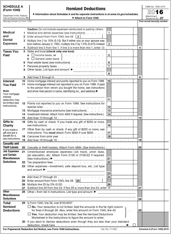 Irs Form 1040 Mailing Address 2016