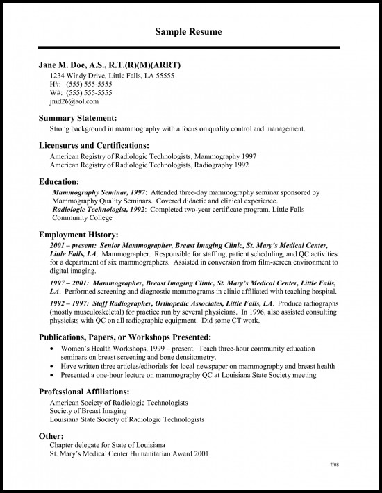 Medical Technologist Resume Sample Resume Builder 2016 2017 Sample Resume For Medical Technologist