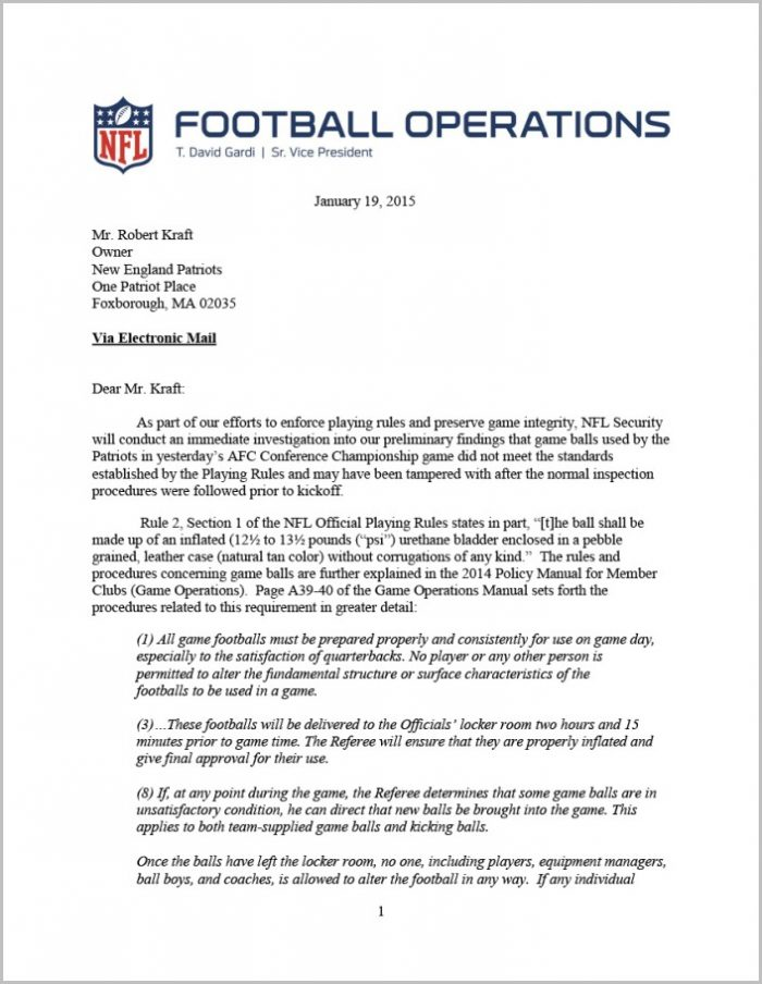 Nfl Letter To Patriots11