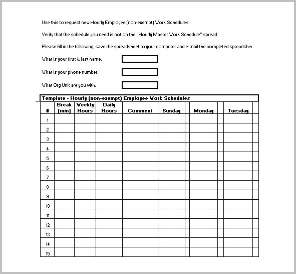 Pay Stub Template Without Tax