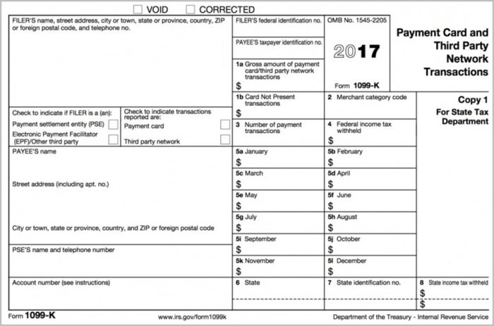 Printable 1099 Int Form 2017