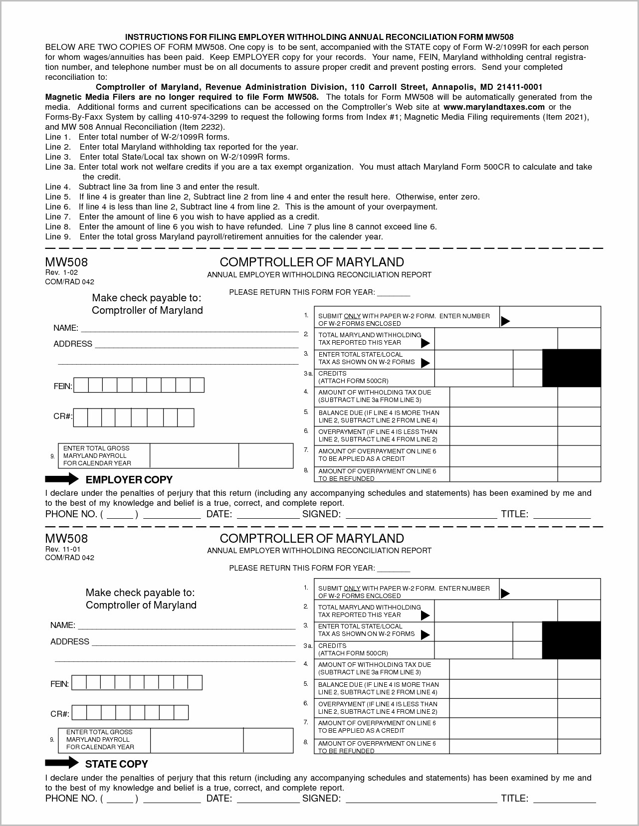 Printable W2 Form For Employers Form : Resume Examples