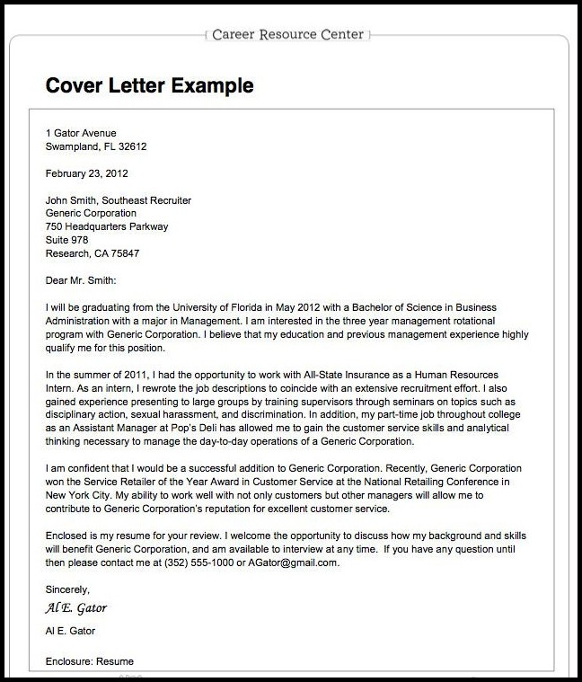 Resumes Applications And Cover Letters