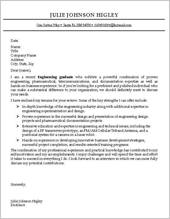 Sample Cover Letter For Resume Entry Level
