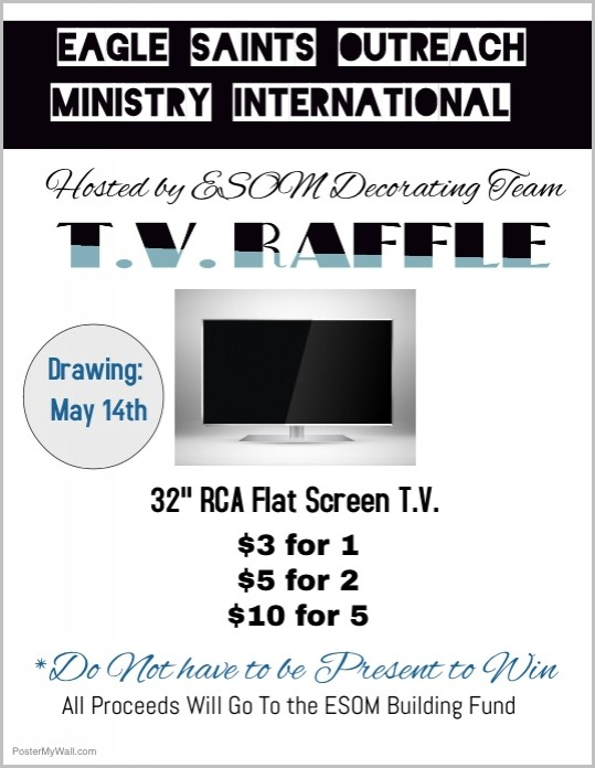 Tv Raffle Ticket Template