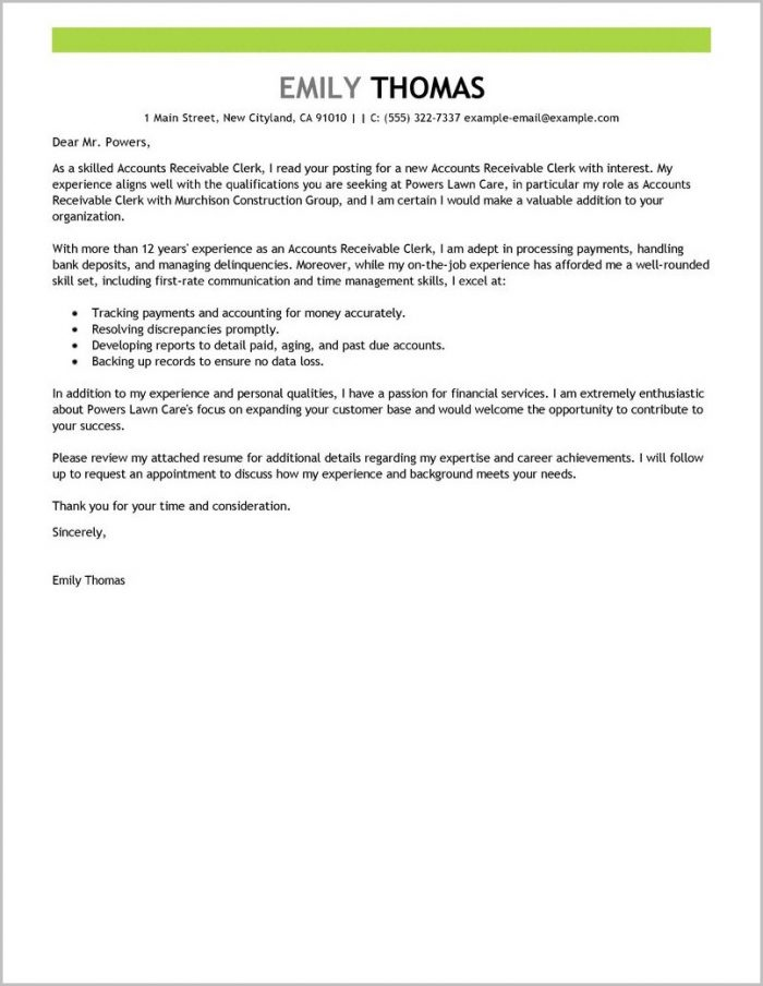 94+ Accounts Payable Cover Letter No Experience - Accounts Payable ...