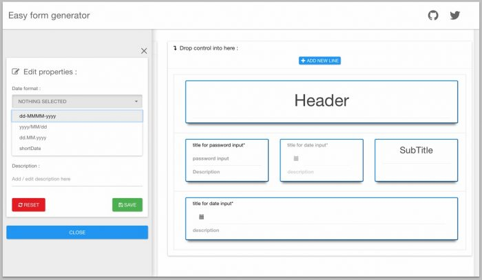 Angular Form Builder Select