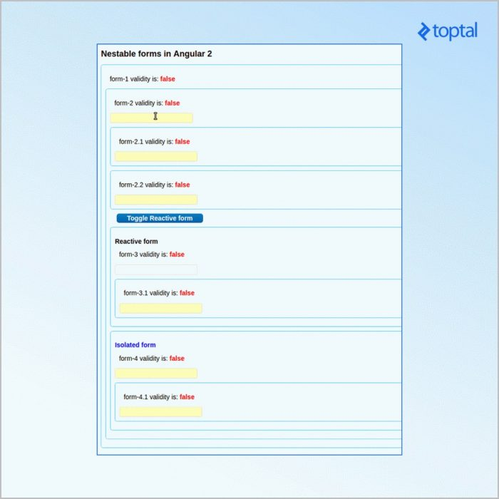 Angularjs Form Builder Example
