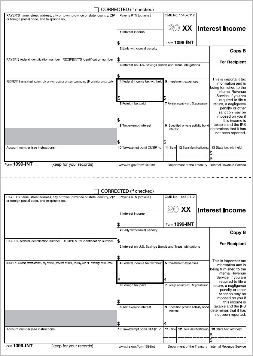 Buy 1099 Forms For Quickbooks