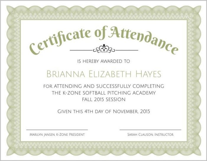 Certificate Of Appreciation Citation Examples