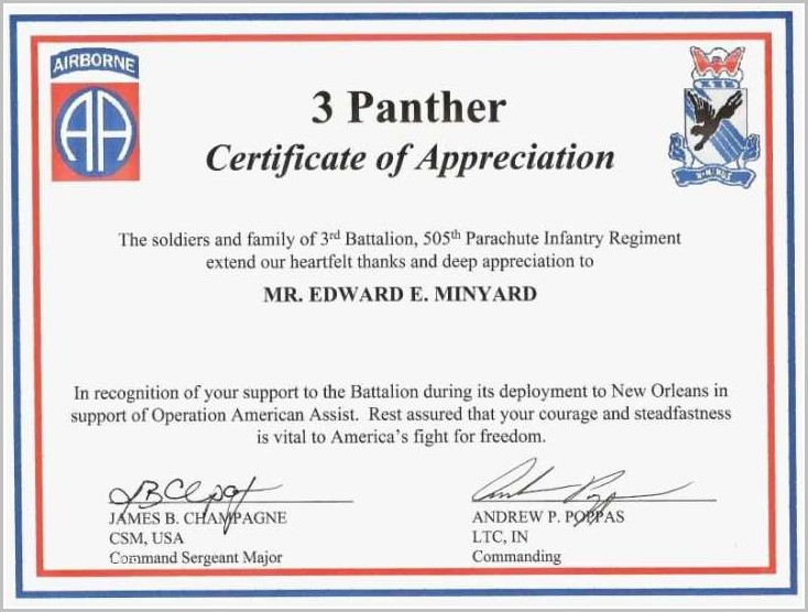 certificate of appreciation speaker sample templates