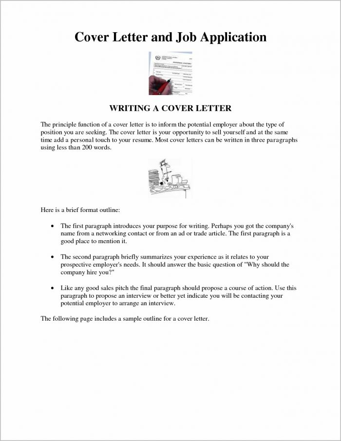 Cover Letter Examples For Job Doc