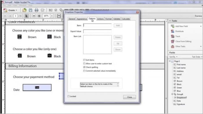Create Fillable Pdf Forms Acrobat 9 Pro
