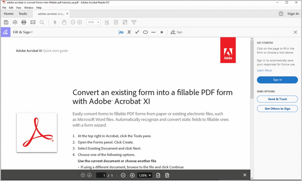 Create Fillable Pdf Forms For Reader Users Acrobat 10
