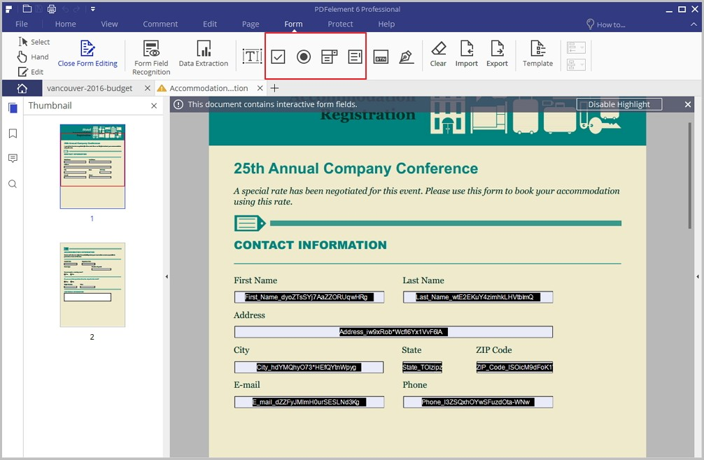 Create Fillable Pdf Forms From Pdf