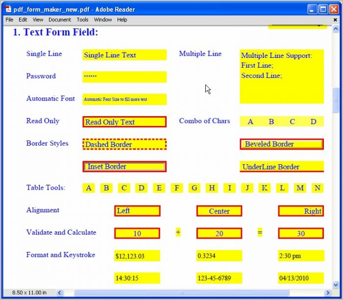Create Free Fillable Pdf Forms Software