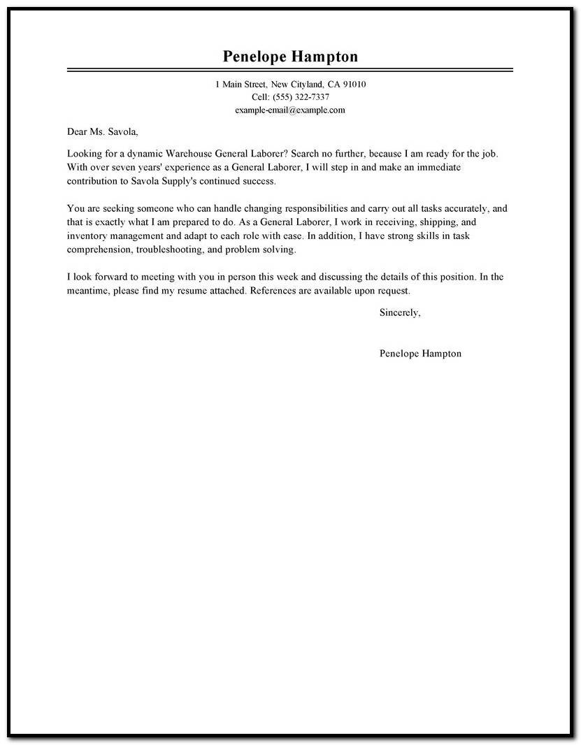 Financial Advisor Cover Letter No Experience Cover-letter : Resume ...