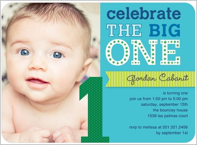 First Birthday Online Invitation Templates Free
