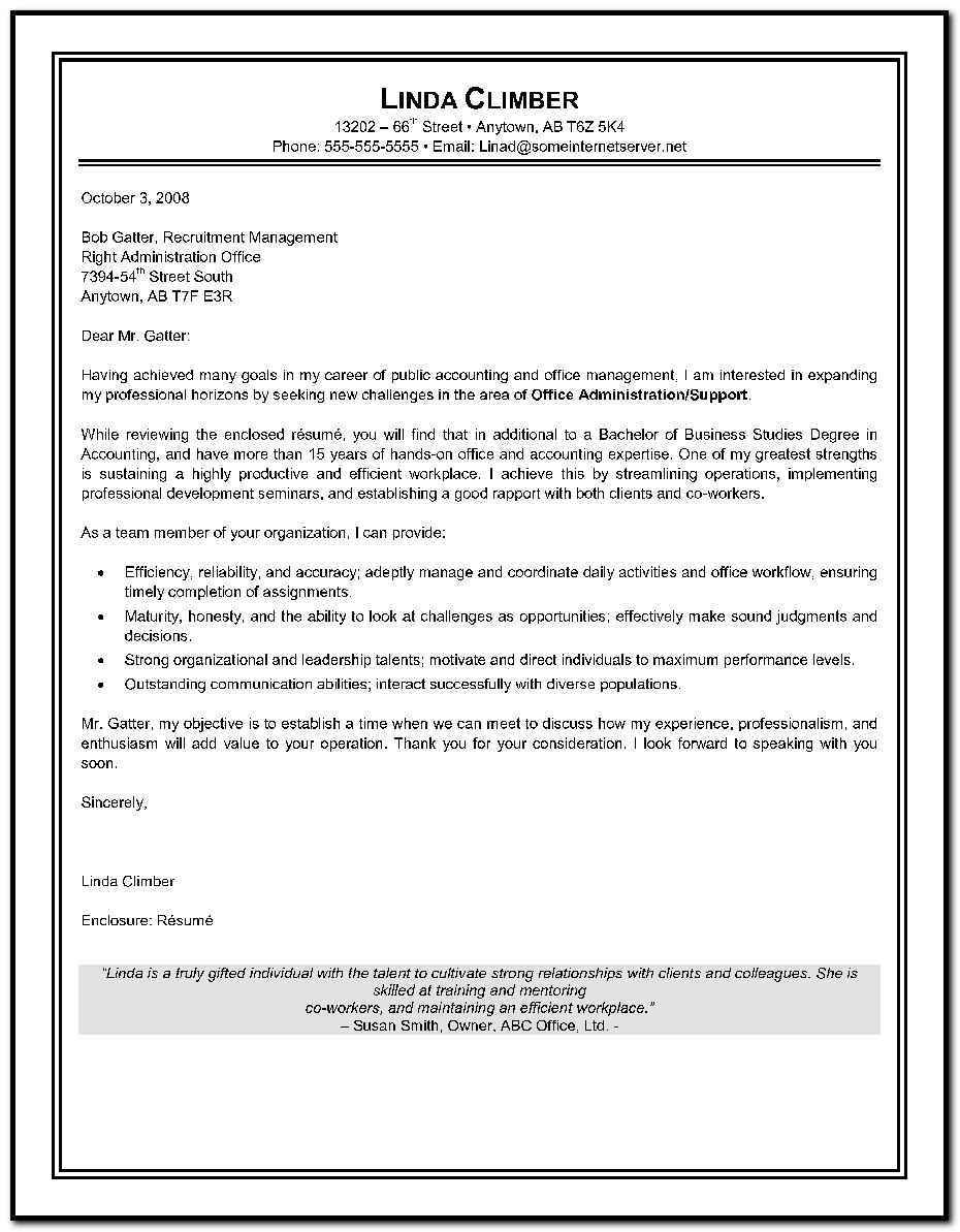 Free Cover Letter Templates For Microsoft Word 2007 Cover