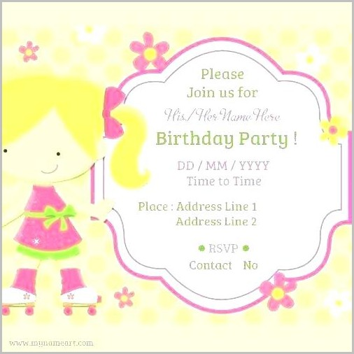 Free Online Invites For Birthday