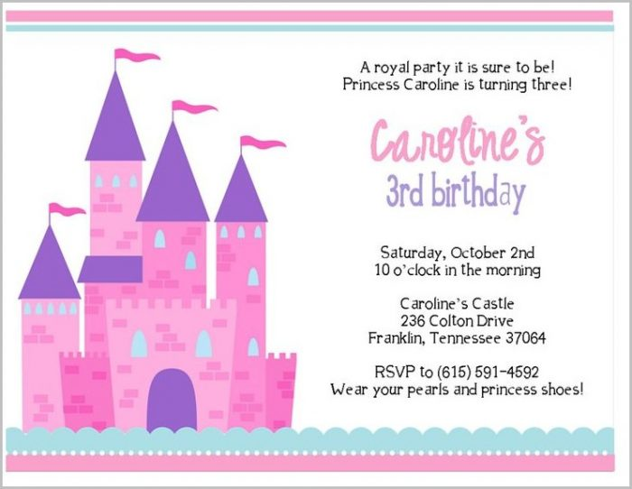 Free Online Printable Birthday Invitation Templates