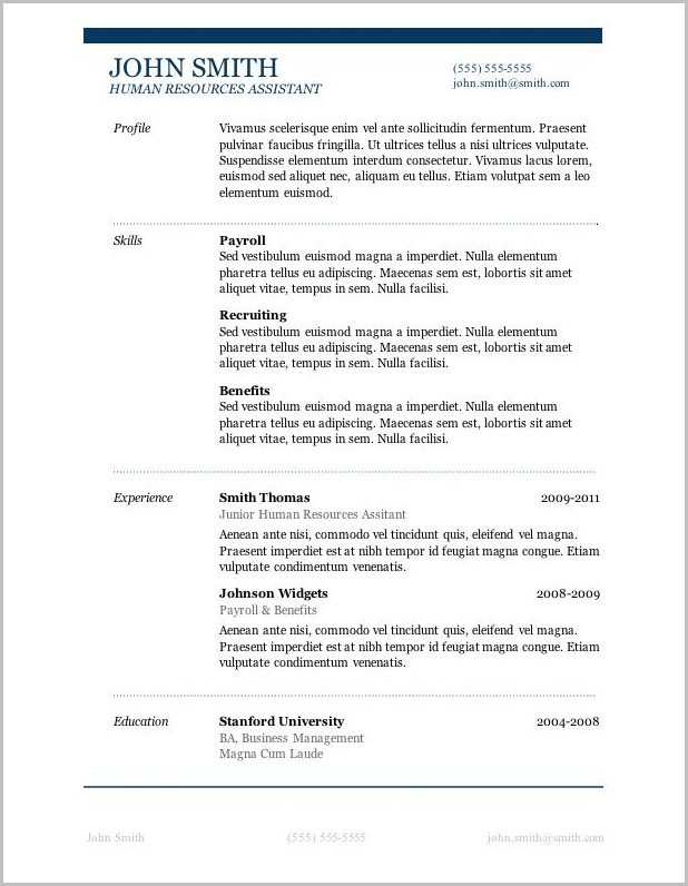 free resume template with picture insert templates