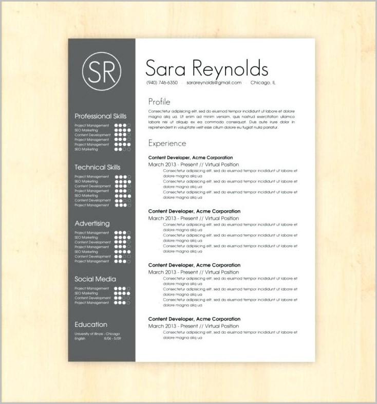 Free Resume Template Google Docs