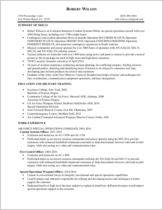 Free Resume Templates Usa