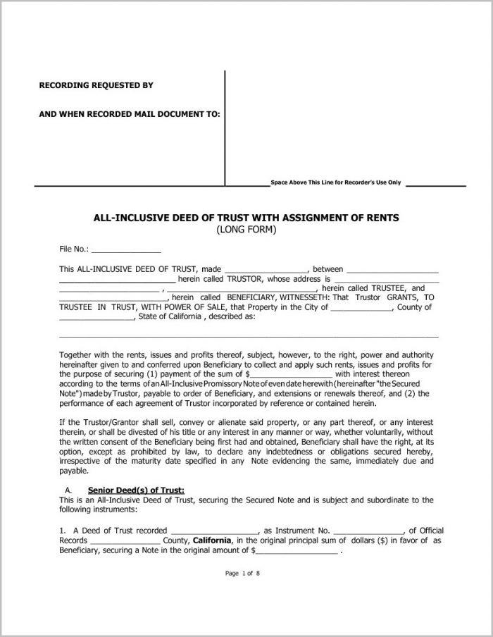 Grant Deed Form County Of San Bernardino