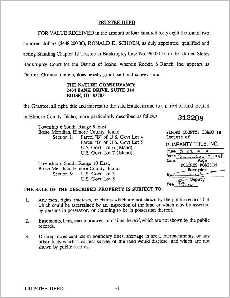 Grant Deed Form Idaho