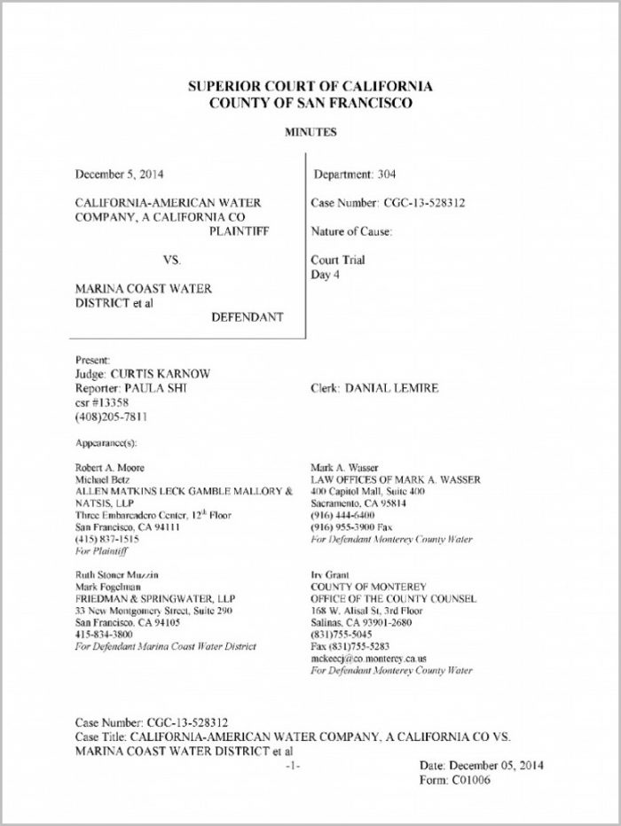 Grant Deed Form Monterey County
