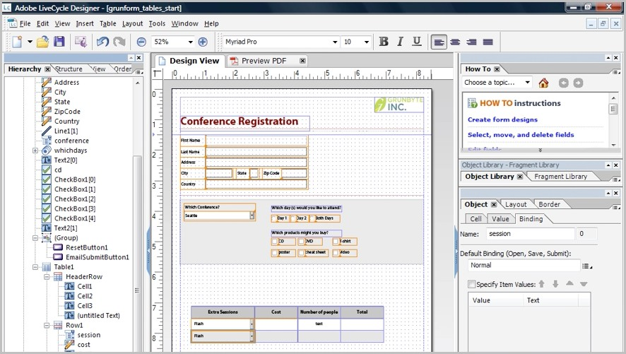 How To Create Fillable Pdf Forms From Excel Form : Resume