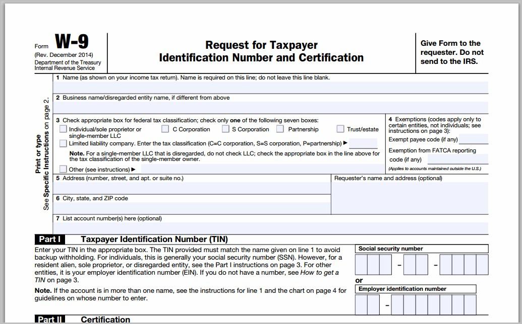 Irs 1099 Form Mailing Address