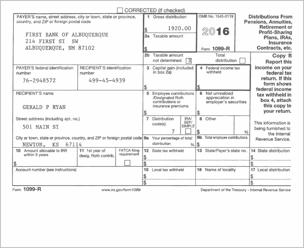 Irs Form 1099 Code 7 Form Resume Examples