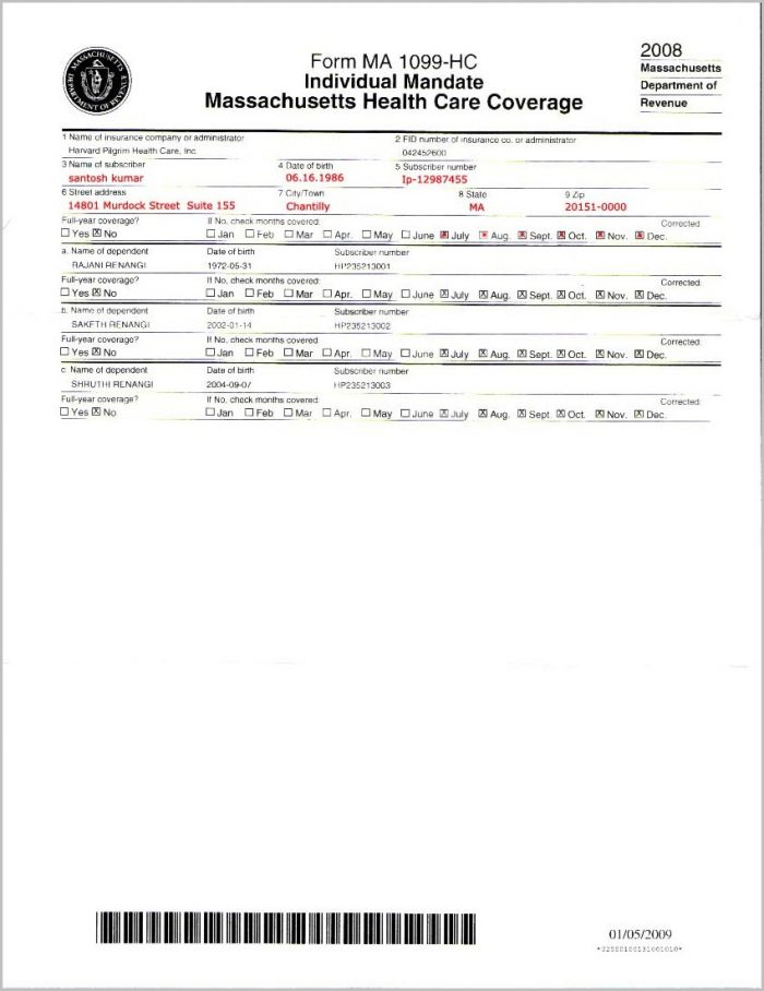 Irs Form 1099 Hc