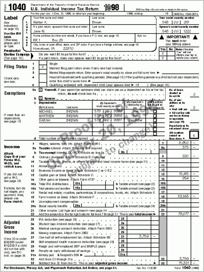 Massachusetts 1040ez Tax Form
