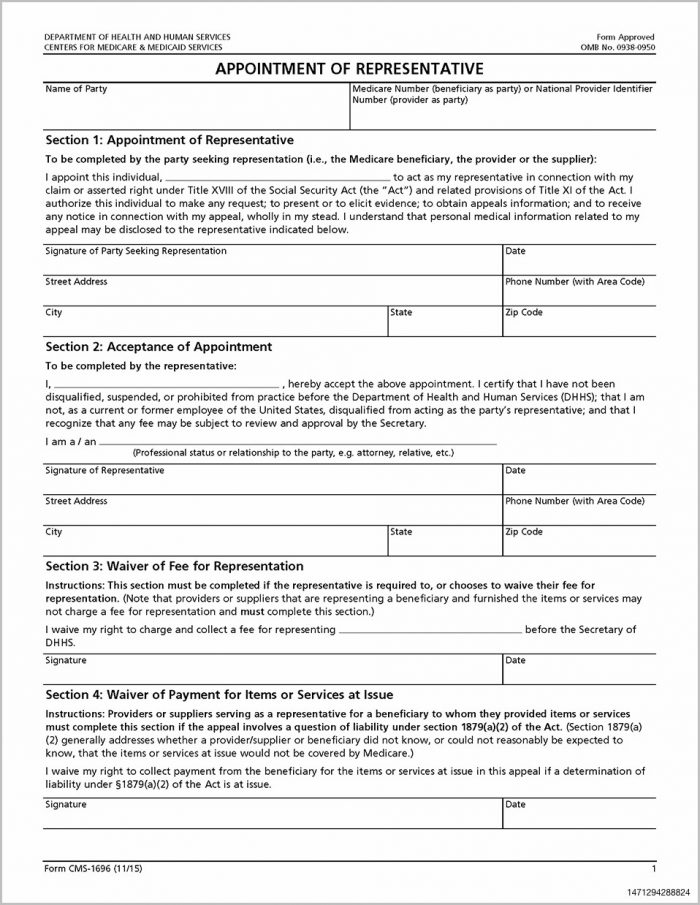 Medicaid Application Form Nj
