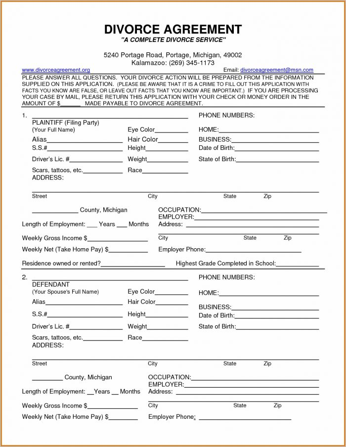 minnesota divorce forms download form   resume examples